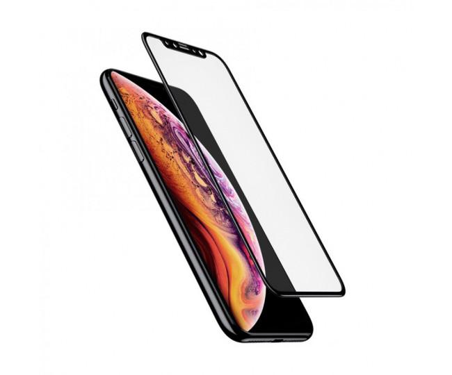 Защитное стекло 5D для iPhone Х,XS,11pro Black б/к