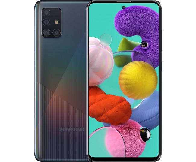 Samsung Galaxy A51 2020 4/64GB Black (SM-A515F)