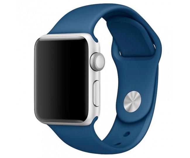 Ремешок Apple Watch 38mm Sport Ocean Blue