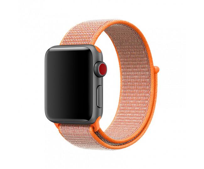 Ремешок Apple Watch 38mm Sport Spicy Orange