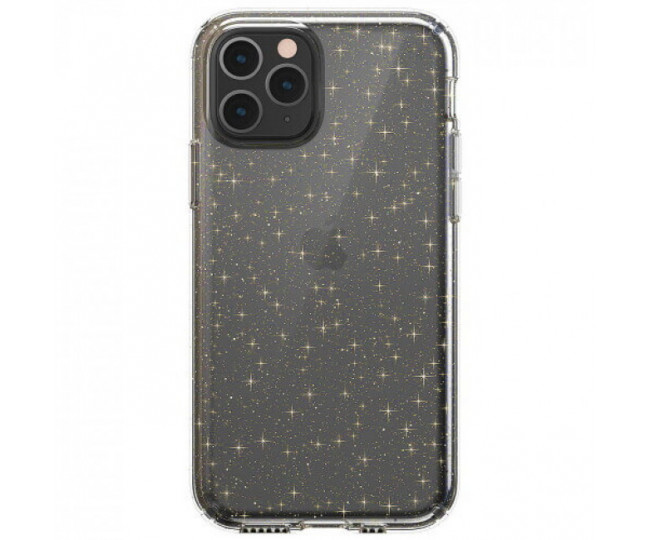 Чехол Speck Presidio Clear + Glitter для iPhone 11Pro Clear with Gold Glitter/Clear (SP-129893-5636)