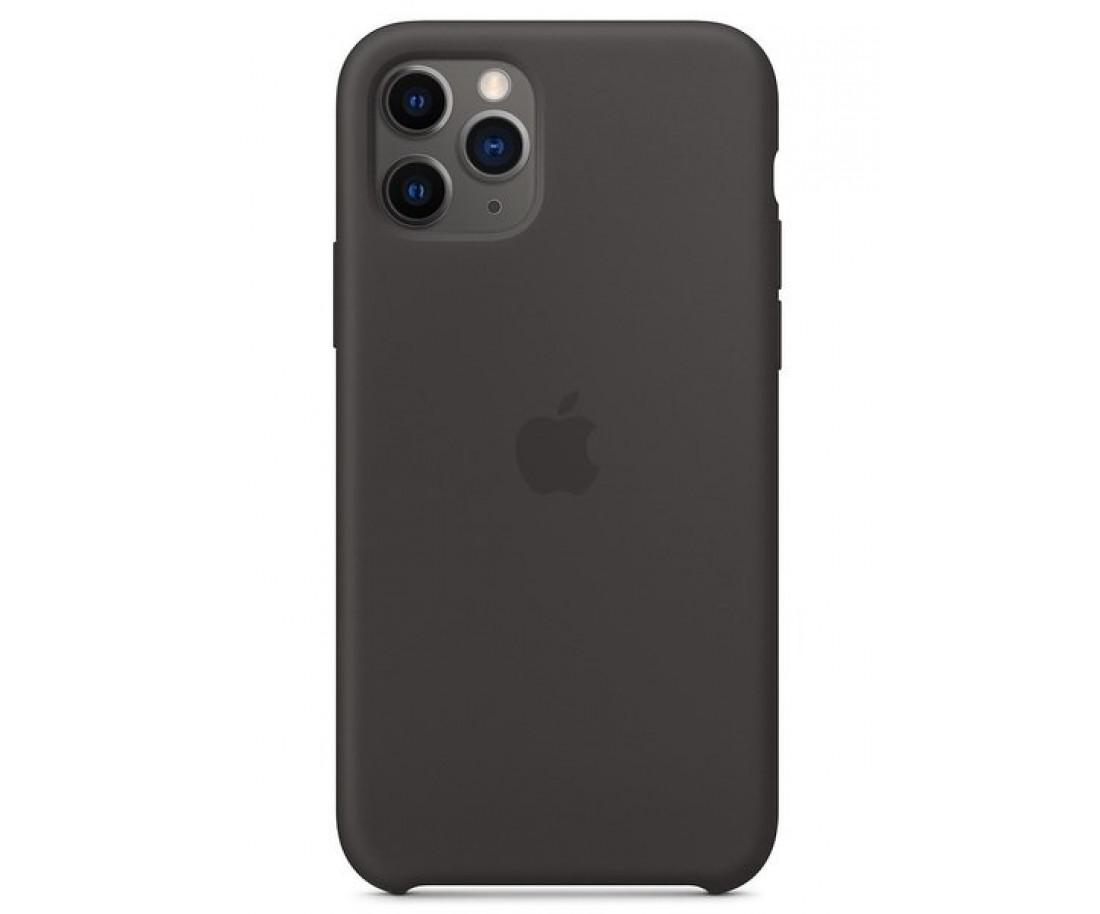 Чехол Apple iPhone 11 Pro Silicone Case - Black (MWYN2)