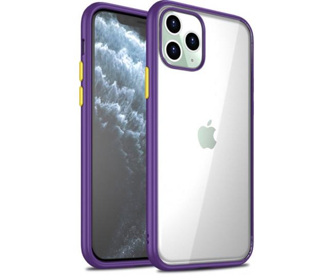 Чехол iPaky Cucoloris для iPhone 11 Pro Max Purple/Yellow