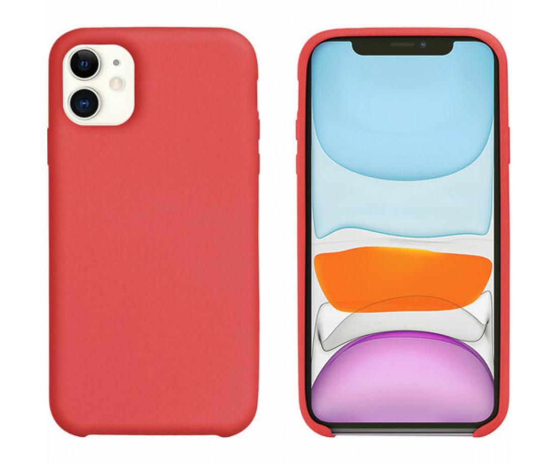 Чехол Intaleo Velvet iPhone 11 Red