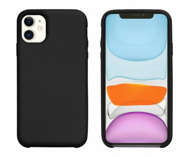 Чехол Intaleo Velvet iPhone 11 Black