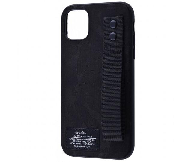 Чехол Kajsa Khaki iPhone 11Pro Max Black