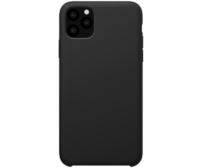 Чехол Silicone Slim Weaving для iPhone 11 Pro Max Black