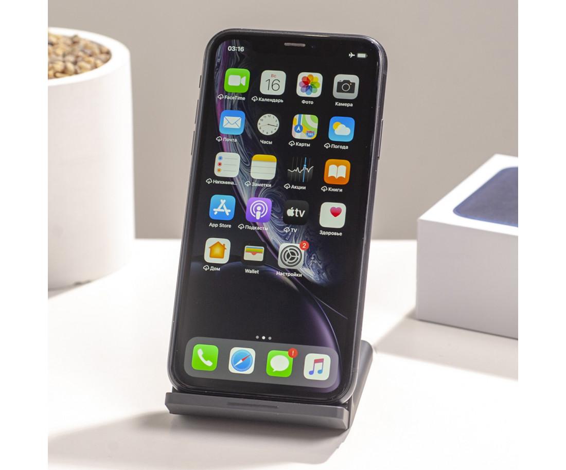 iPhone XR 64gb Black (MRY42) б/у