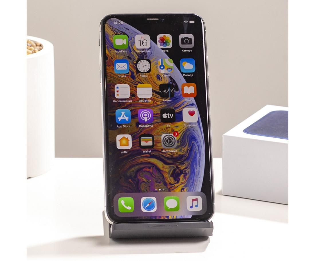iPhone XS Max 256GB Silver (MT542) б/у