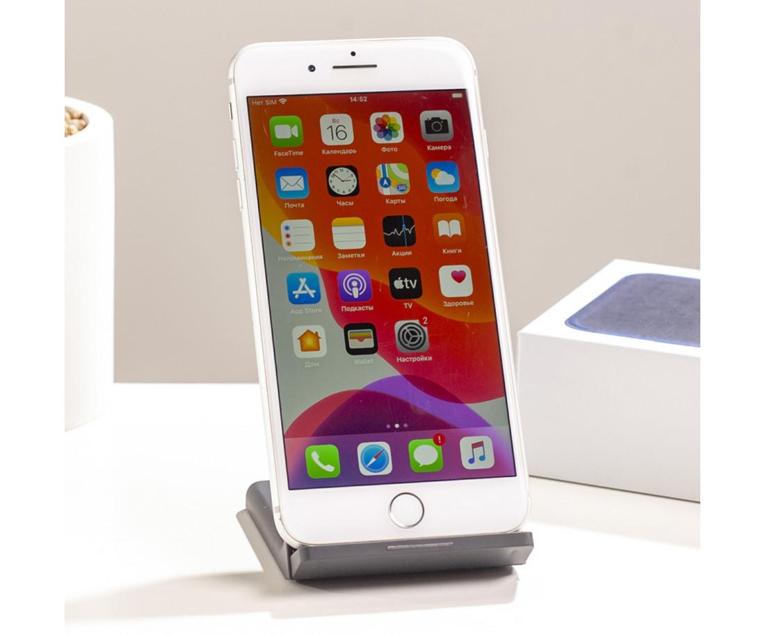 iPhone 8 Plus 64gb, Silver б/у
