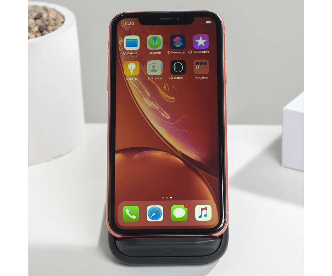 iPhone XR 128GB Coral (MRY82) б/у