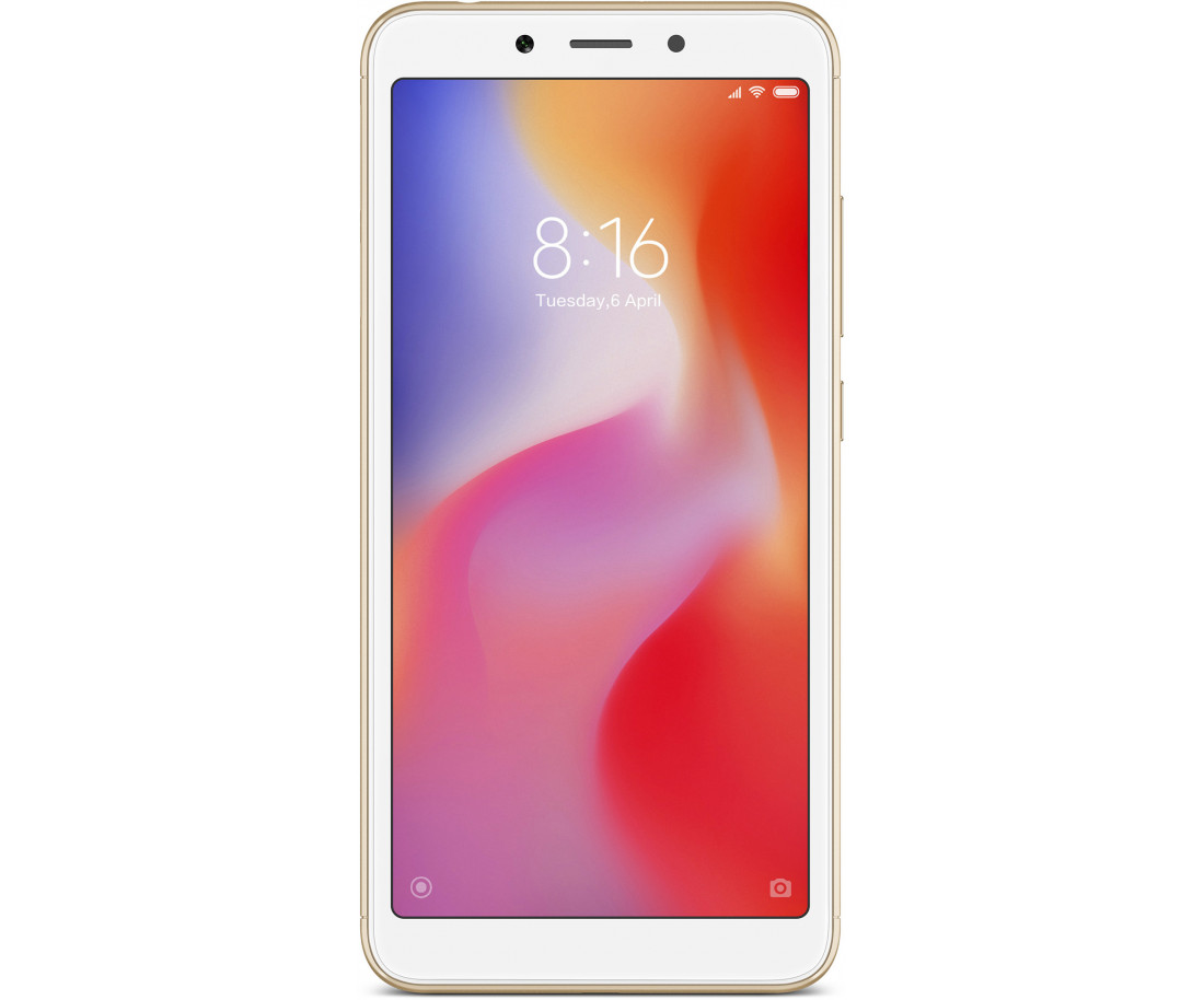 Xiaomi Redmi 6A 2/16GB Gold EU