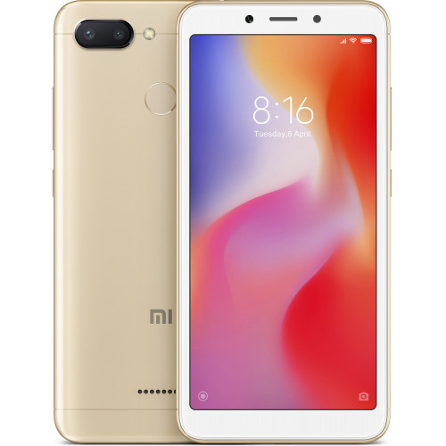 Xiaomi Redmi 6 3/64GB Gold EU