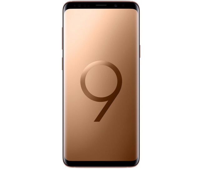 Samsung Galaxy S9  SM-G965U1 SS 6/256GB Gold US (English menu)