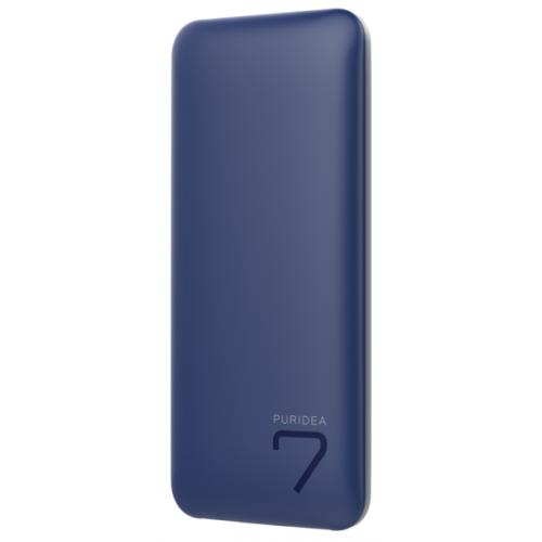Внешний аккумулятор PURIDEA S5 7000mAh Li-Pol Rubber Blue & White