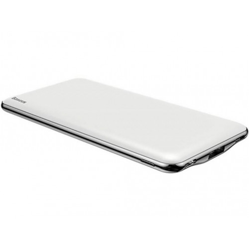Внешний аккумулятор Baseus Simbo Smart 10000mAh + Type-C Cable White