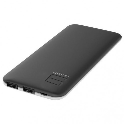 Внешний аккумулятор PURIDEA S4 6000mAh Li-Pol Rubber Black & White