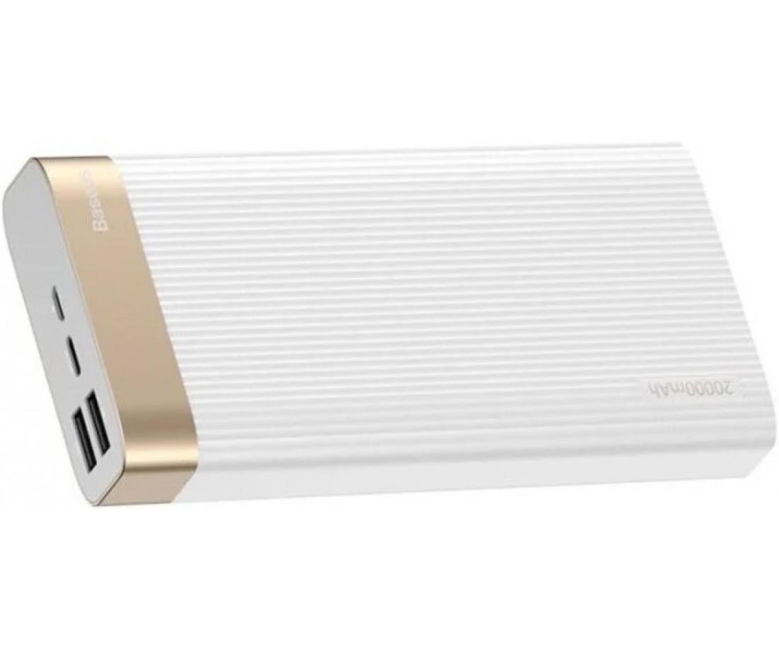 Внешний аккумулятор Baseus Parallel Type-C PD QC3.0 20000 mAh White