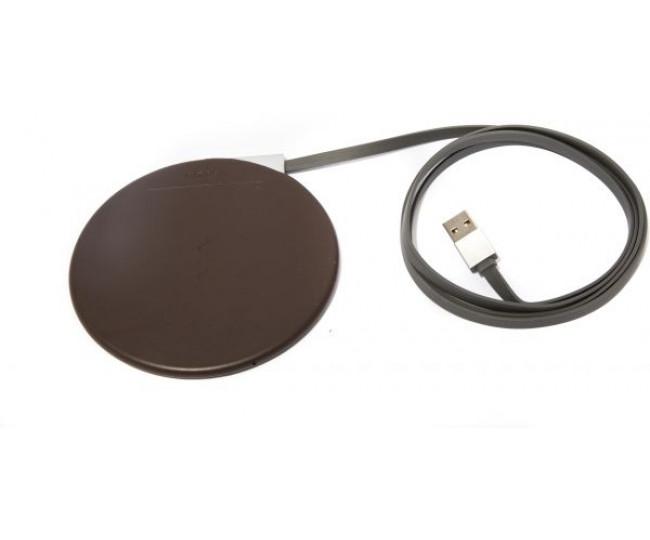 Беспроводная Qi зарядка JoyRoom Wireless Charge Brown (JR-W100)