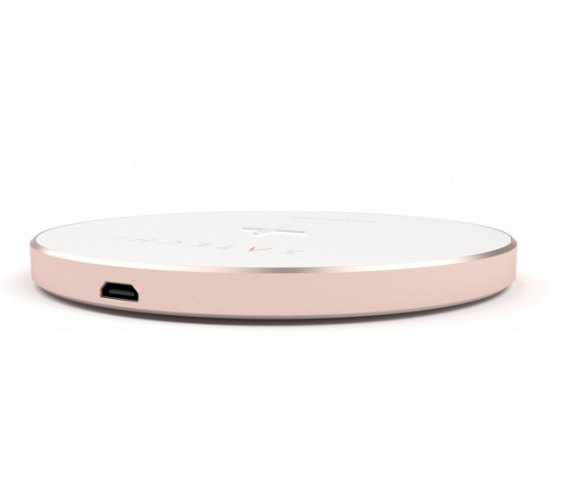 Беспроводная Qi зарядка X-Doria Golden Wireless Charge Rose Gold