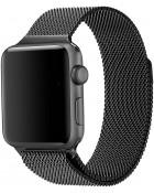 Ремешок Apple Watch 42/44mm Milanese Loop Black
