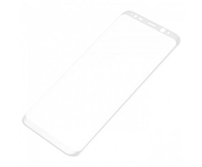 Защитное стекло Baseus 3D для Samsung Galaxy S8 White