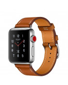 Ремешок Apple Watch 38mm Hermes Single Tour Leather Band Fauve Barenia