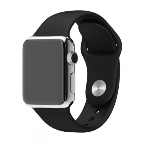Ремешок Apple Watch 38/40mm Sport Band Black