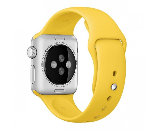 Ремешок Apple Watch 38mm Sport Band Yellow