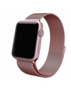 Ремешок Milanese Loop для Apple Watch 38/42mm Rose Gold