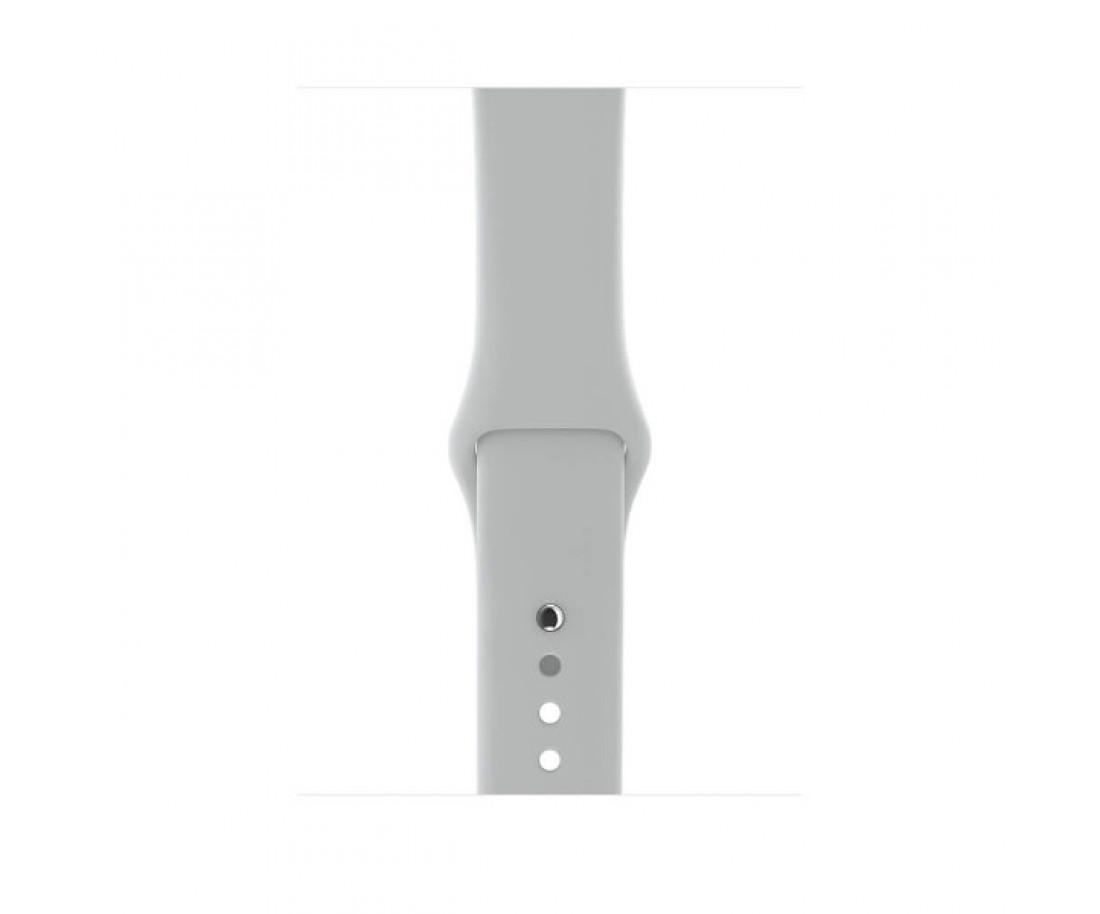 Apple Watch Series 3 GPS + Cellular 38mm Silver Aluminum w. Fog Sport B. (MQJN2)