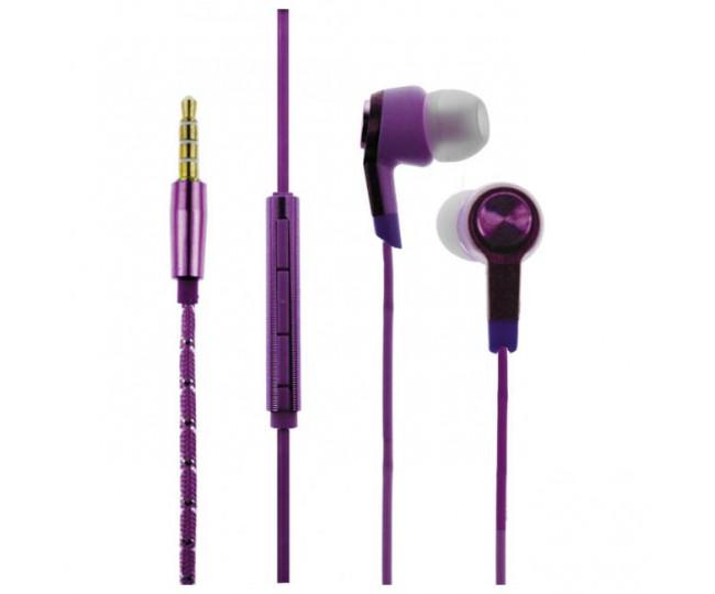 Наушники TOTO Earphone Mi5 Metal Purple