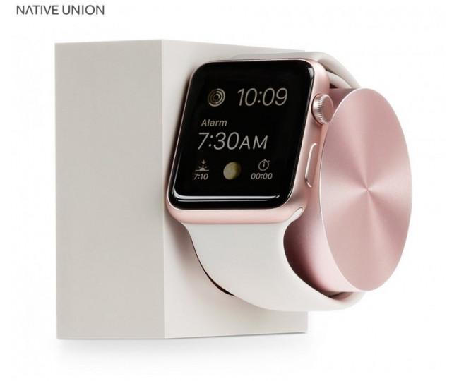 Док-станция Native Union Dock Apple Watch Silicon Stone