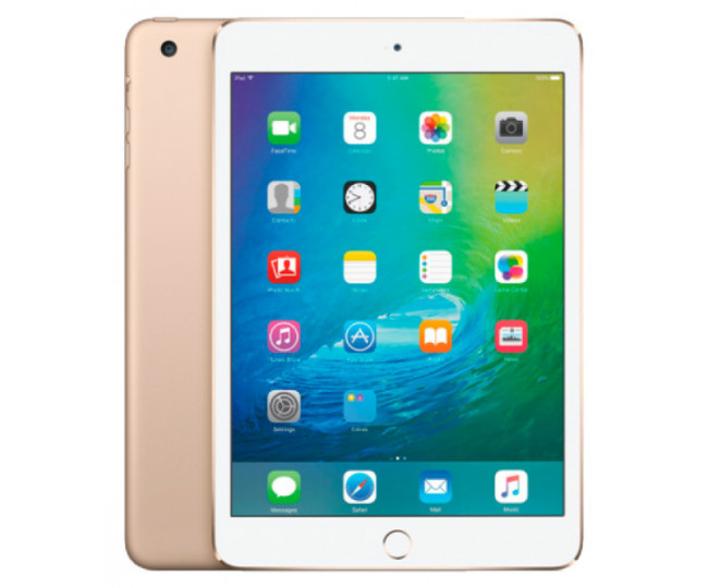 Apple iPad mini 4 with Retina display Wi-Fi 64GB Gold (MK9J2)