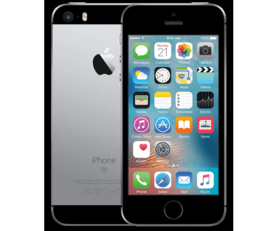 iPhone SE 16Gb Space Gray без гарантии Apple