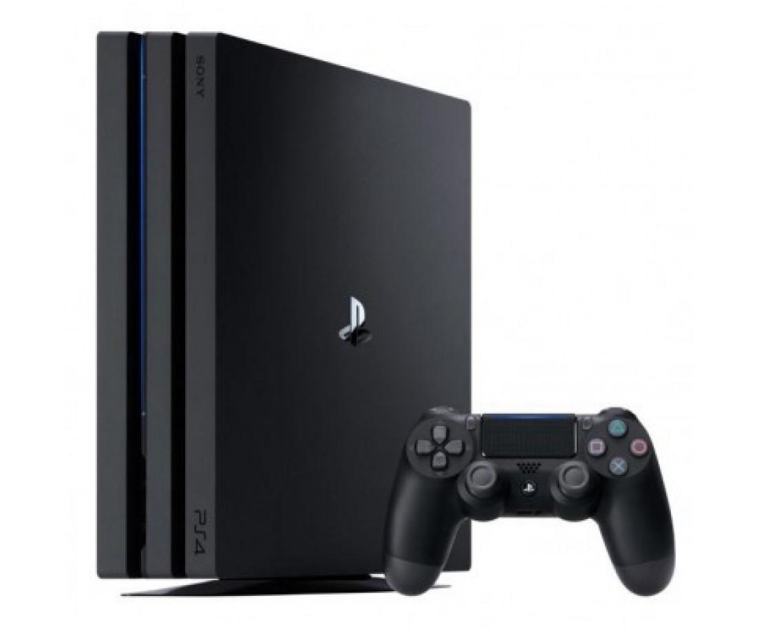 Sony Playstation 4 Pro 1000gb + Игра Call of duty WW2 (Гарантия 18 месяцев)