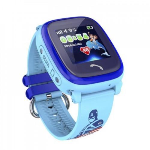 Детские смарт часы Owly Smart Baby Watch Q300S Blue