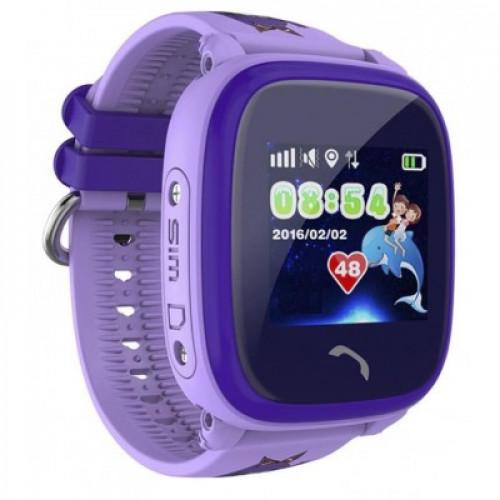Детские смарт часы Owly Smart Baby Watch Q300S Purple