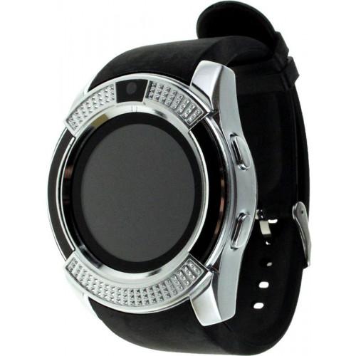 UWatch V8 Black/Silver