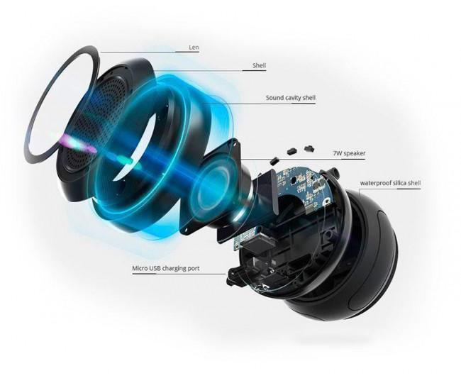 Акустическая система Tronsmart Element Splash Bluetooth Speaker - Black