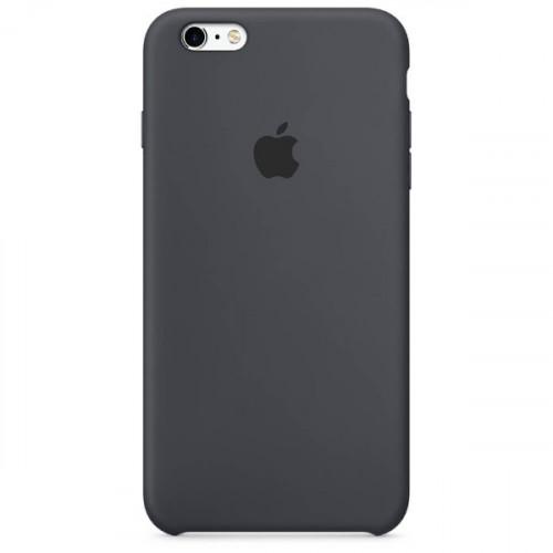 Оригинальный чехол Apple Silicone Case для iPhone 6/6s Plus Charcoal Gray (MKXJ2)