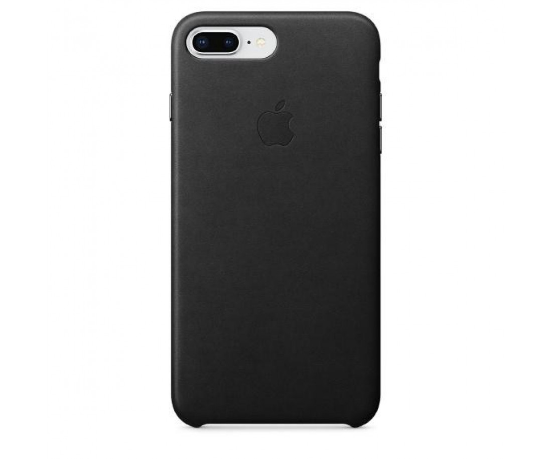 Оригинальный чехол Apple Leather Case для iPhone 8 Plus/7 Plus Black (MQHM2)