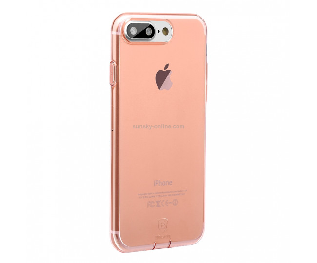 Чехол Baseus Super Slim для iPhone 7 Plus Pink-Clear