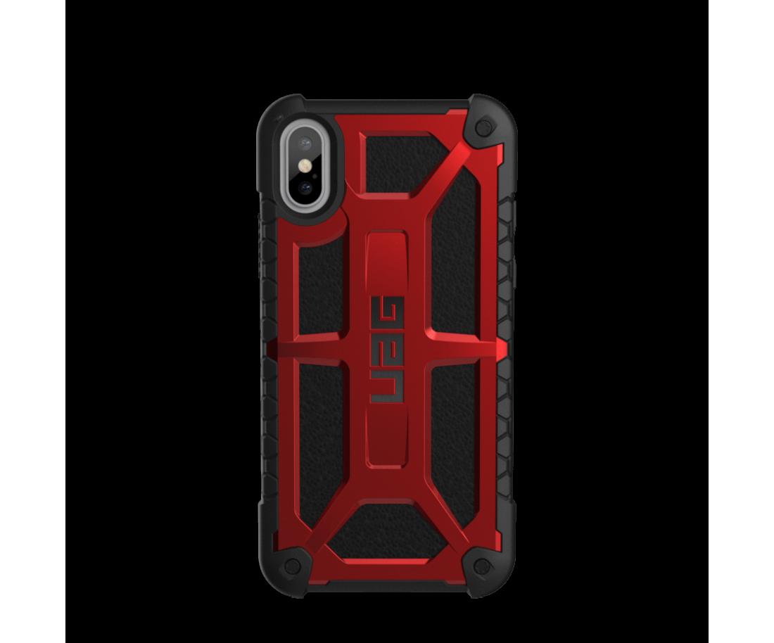 Чехол Urban Armor Gear iPhone X Monarch Crimson (IPHX-M-CR)