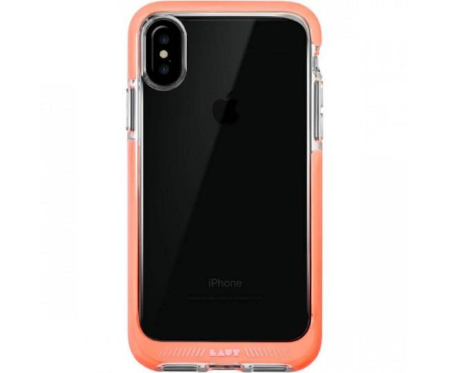 Чехол LAUT FLURO для iPhone X Pink (LAUT_iP8_FR_P)