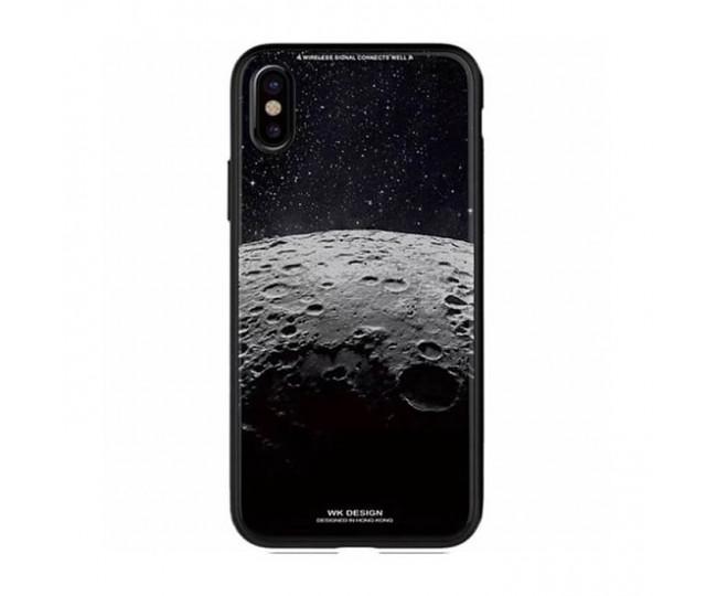 Чехол WK Design Glass LL08 Moon 2 для iPhone X