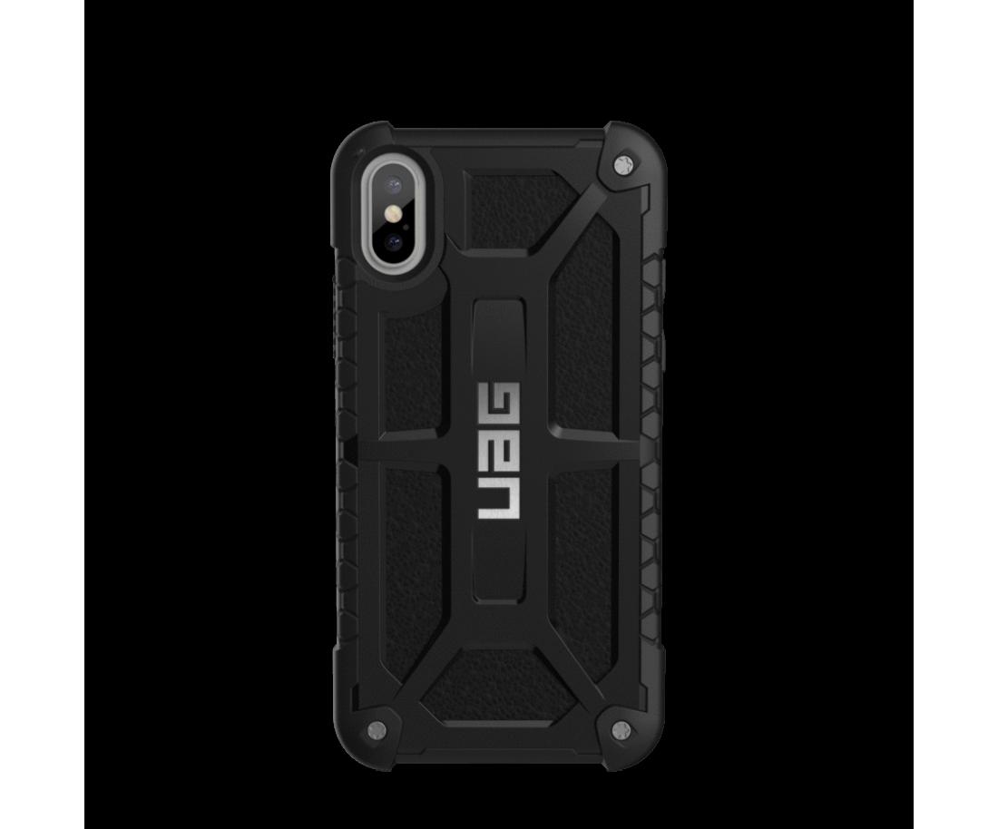 Чехол Urban Armor Gear iPhone X Monarch Black (IPHX-M-BLK)