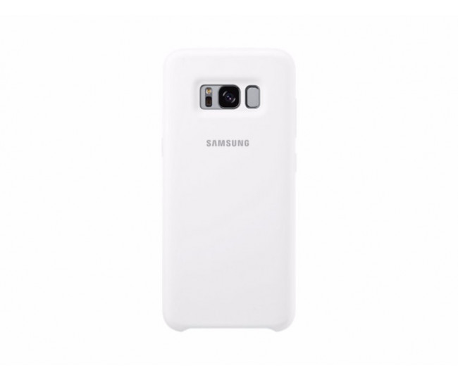 Чехол Silicone Cover для Samsung Galaxy S8 Plus White