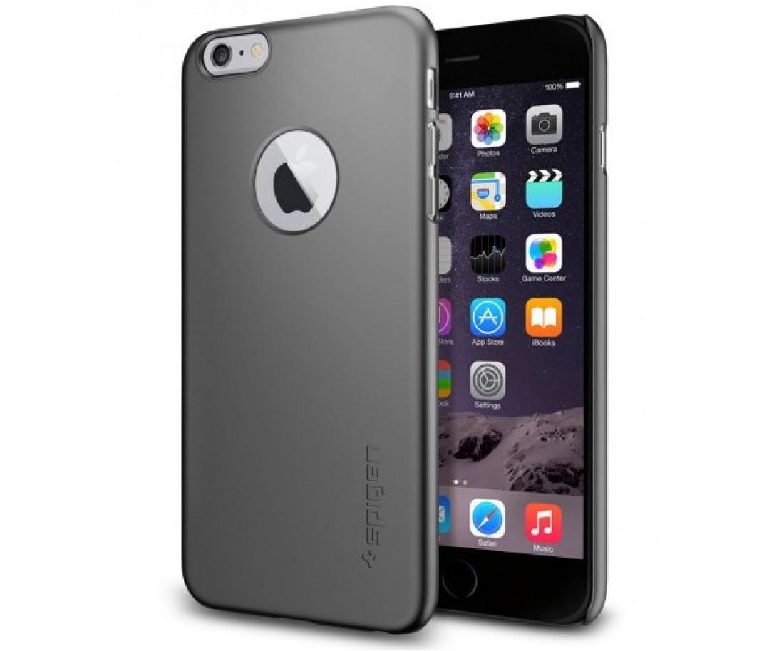 Чехол Spigen Case Thin Fit A Champagne Gold для Apple Iphone 6 Plus