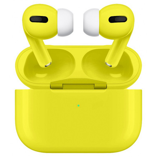 Глянцевые наушники Apple AirPods Pro Lemon Tonic (MWP22)
